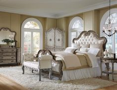 Classic : 902025 : Ella Francesca Upholstered King Bed : Decorium Furniture  Store Toronto Upholstered Bedroom