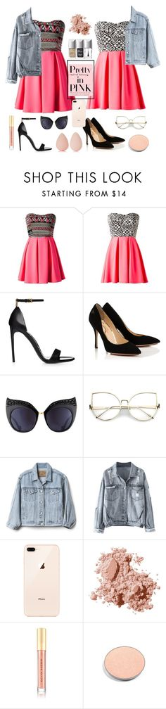 """twining👭"" by jojogena ❤ liked on Polyvore featuring beauty, Anna-Karin Karlsson, Gap, Bobbi Brown Cosmetics, Kevyn Aucoin, Chantecaille and beautyblender"