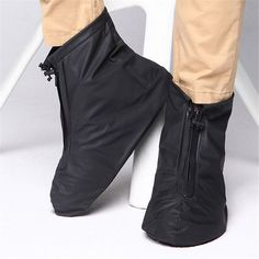 sptblanche Waterproof Motorcycle Bike Shoes Covers,Reusable Anti-slip Rain Snow Boots Overshoes Gear Zipped Boot for Men and Women Rain Cycling Hiking Plastic Shoe Covers Rain Shoes, Bike Shoes, Shoe Boots, Slip Resistant Shoes, Plastic Shoes, Waterproof Shoes, Rain And Snow Boots, Ladies Slips, Tapas
