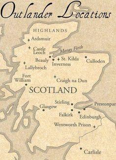 Outlander locations in Scotland