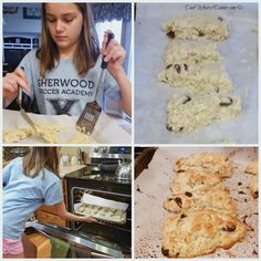 Super simple and satisfying Oatmeal Raisin Scones are perfect for a cold Saturday morning or anytime when you want a great breakfast bread! Oatmeal Scones, Raisin Scones, Scones Chocolate Chips, Irish Cake, Blackberry Muffin, Italian Almond Cookies, Thing 1, Breakfast Bars, Everyday Food