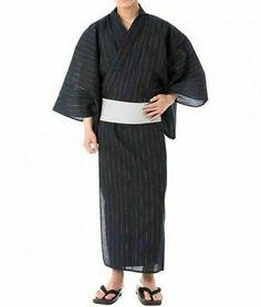 Men's Yukata, Japanese Yukata, Traditional Japanese Kimono, Japanese Outfits, Summer Kimono, Harajuku Fashion, Kimono Fashion, Traditional Outfits, Costume