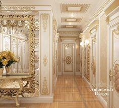 That mirror & table Luxury Rooms, Luxury Interior Design, Luxury Home Decor, Luxury Living, Interior Decorating, Decoration Hall, Classic Interior, Dining Room Design, Ceiling Design