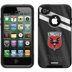 D.C. United Jersey Design on OtterBox Commuter Series Case for Apple iPhone 4/4s