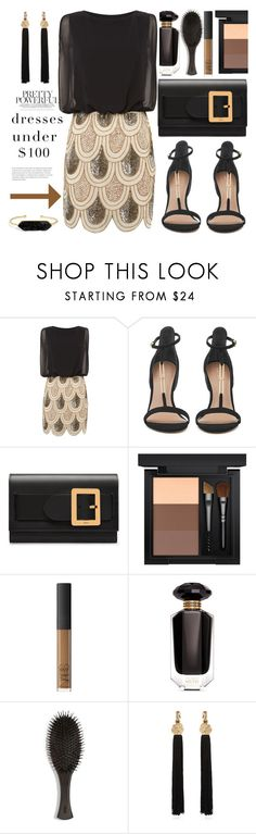 """""""Pretty powerful dress under $100"""" by carleen1978 on Polyvore featuring Lace & Beads, Bally, MAC Cosmetics, Victoria's Secret, Oribe, Yves Saint Laurent and BaubleBar"""