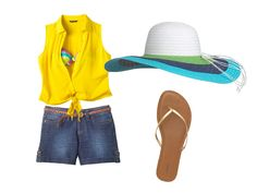 Headed to the cottage? Don't forget a hat! #fashion #Ready4Summer