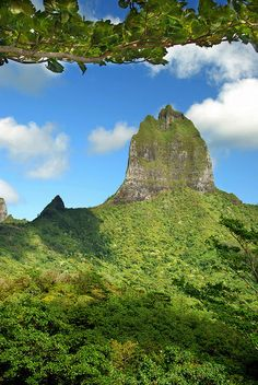 The island of Moorea in Tahiti, French Polynesia http://www.lonelyplanet.com/tahiti-and-french-polynesia/moorea