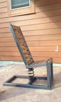 Photo for woodwork. outdoor diy projects - wood workin diy - Photo for woodwork. 25 outdoor diy projects Best Picture For woodworking tips For Yo - Steel Furniture, Industrial Furniture, Cool Furniture, Furniture Design, Outdoor Furniture, Furniture Plans, Welded Furniture, Shaker Furniture, Furniture Websites