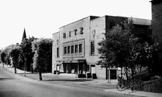 Old photo of The Ritz, Northampton Road c1955, Market Harborough