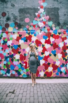 You guys how cute is this mural?! I am a sucker for any mural, let alone one covered in hearts! I love that NYC is covered in street art and I am always amazed at people's talent. Anyways, we searched for forever to find this wall and finally found it! (1st street between 1st and 2nd avenue for …