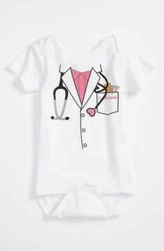 Sara Kety Baby & Kids 'Doctor' Bodysuit (Infant) | Nordstrom