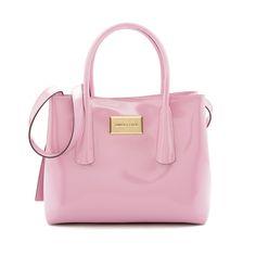 BIMBA Y LOLA bolso tote mediano rosa