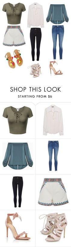 """""""Cute Casual Outfits 🙂💜"""" by lsantana13 ❤ liked on Polyvore featuring Plein Sud, BCBGMAXAZRIA, River Island, Talitha, Alexandre Birman and Carvela"""