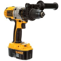 DEWALT 18-Volt XRP NiCd Cordless 1/2 in. Hammer Drill/Driver with (2) Batteries 2.4Ah, 1-Hour Charger and Case