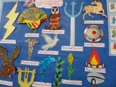 Percy Jackson, School Community, Greek Gods, Ancient Greece, Greek Mythology, School Projects, Ancient History, Presentation, Kids Rugs