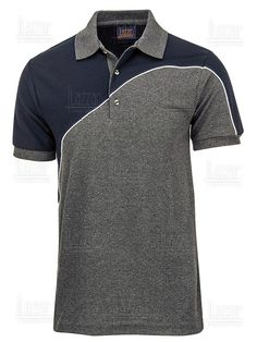 Polo Shirt Style, Polo Shirt Design, Blue Polo Shirts, Sport T Shirt, Rugby Outfits, Gents T Shirts, Corporate Uniforms, Formal Men Outfit, Mens Fashion Blazer