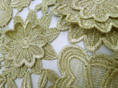 Love this from Tessuti Fabrics Gold Lace Fabric, Haute Couture Looks, Embroidery Fabric, Some Ideas, Fabric Online, Burlap Wreath, Cotton Linen, Marriage, Fabrics