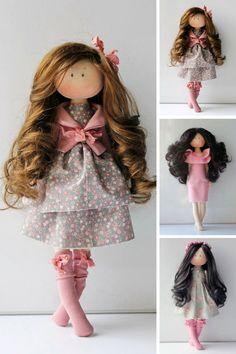 Tilda doll Bonita Handmade doll Cloth doll by AnnKirillartPlace