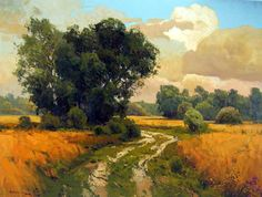 oil painting scenery results - ImageSearch Watercolor Landscape, Landscape Art, Landscape Paintings, Beautiful Paintings, Beautiful Landscapes, Art Oil, Painting Inspiration, Nature Photography, Scenery