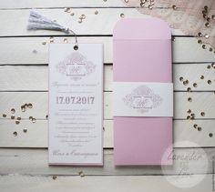 Купить Пудровые приглашения - пудровые приглашения, пудровая свадьба, пастельные приглашения, свадебные приглашения
