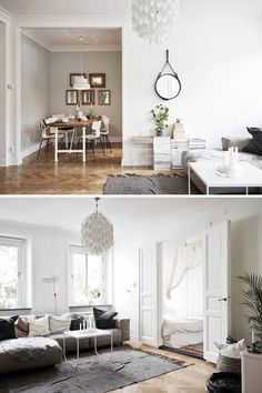A SMALL SWEDISH APARTMENT | THE STYLE FILES