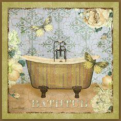 Bathtub Beauty Digital Art