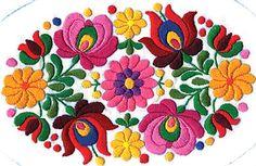 Typische Stickerei aus Kalocsa - Urlaub in Ungarn / Erlebnis Ungarn -