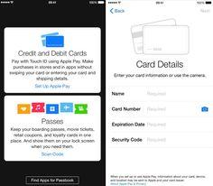 Apple Pay se hace presente en la segunda beta de iOS 8.1