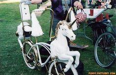 unicorn head bike | Unicorn+bike+2011