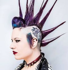 Commitment Liberty Spikes, Punk Mohawk, Avant Garde Hair, Hair Gel, Pompadour, Crazy Hair, Hairspray, Cut And Style, Punk Rock