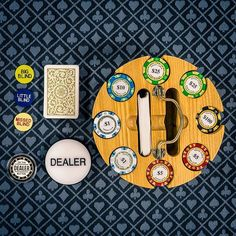 Ready for a new poker chip set?  We've got what you need!⠀ ♠️♥️♣️♦️⠀ Wanna see more?  We sell tons of cool casino supplies online.  Link in our bio!  #Regram via @casinosupply