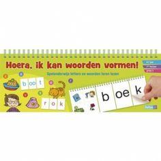 Leuk voor de allerkleinsten (groep 1 t/m 3). Spelenderwijs letters en woorden leren lezen. Kies een tekening uit en zoek de juiste letters. Want je weet wat ze zeggen: oefening baart kunst!
