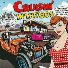 Classic cruising tracks from Rock 'n' Roll icons such as - Chuck Berry, Ernie Maresca, Curtis Lee, Del Shannon, Brenda Lee, Johnny and The Hurricanes, Roy Orbison, Dick Dale, Eddie Cochran, The Everly Brothers, Elvis Presley, Fats Domino, The Crickets, Ricky Nelson, Johnny Burnette and many others.