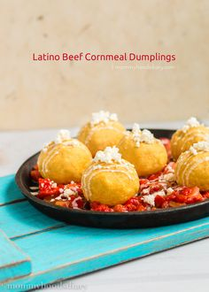 Latino Beef Cornmeal Dumplings - Mommyhood's Diary #MasecaNosGusta
