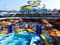 Carnival Dream | Lido Deck- our cabin is on this deck!!!