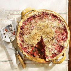 Raspberry-Rhubarb Pie Recipe