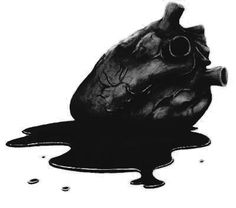 Black Heart- don't get too close it's not blood. It's acid to the touch⭐️⭐️⭐️
