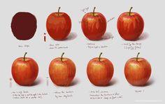 Study Fruit Apple by HuynhThiNhuY