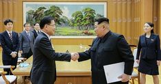 """North and South Korea meeting - NKorea, a rotten regime, playing a devious game but Trump, as usual with his bullshit and bluster, has handed them a """"gift""""! The US is too quick to """"bully"""". A tactical blunder - after their record in Vietnam, Iraq, etc they should have learned costly lessons!  Rotten, corrupt regimes abound but the US should be smarter! But Trump is such an idiot what could you expect ! Trump's clear intention is more war - the public clearly say that is NOT an option !"""
