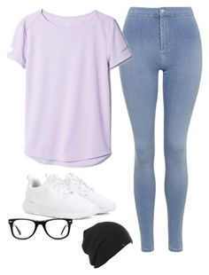 """""""Casual outfit"""" by blondeblogger23 on Polyvore featuring Topshop, adidas, NIKE and Muse"""