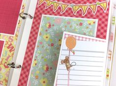 Baby Girl Scrapbook Mini Album Kit or Premade Newborn Shower