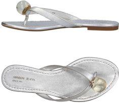 88e2f827e Armani Jeans Women Flip Flops on YOOX. The best online selection of Flip  Flops Armani Jeans.