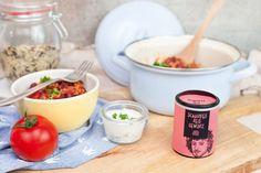 Du suchst nach einer Alternative zur One-Pot Pasta? Dann probiere es doch mal mit unserem leckeren scharfen One-Pot Reis mit frischem Joghurt Dip!