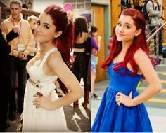 ariana grande before (2010) and after (around 2013)