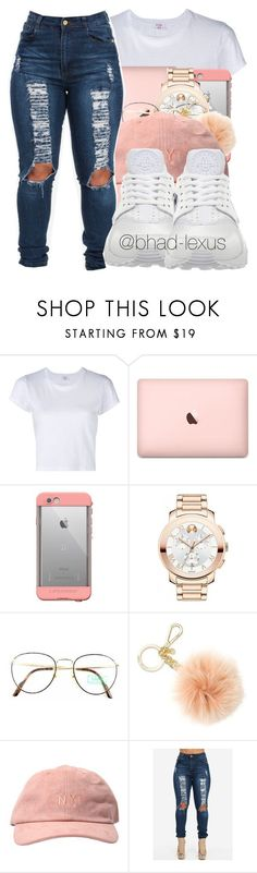 """""""not antisocial just no tolerance for bs."""" by bhad-lexus ❤ liked on Polyvore featuring RE/DONE, LifeProof, Movado, Benetton, Michael Kors and NIKE"""