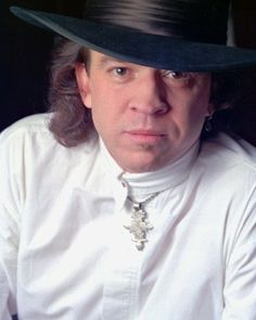 """Stevie Ray Vaughan most often plied his craft on a hybrid 1962-1963 Stratocaster he referred to as """"Number One."""" Another favorite guitar he named Lenny, after his wife Leonora. He also owned instruments named Red, Scotch, Charley and Butter."""