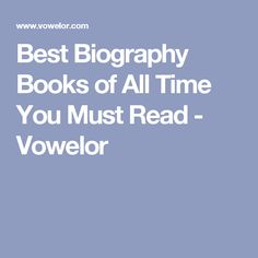 33 best best literature articles images on pinterest literature best biography books of all time you must read fandeluxe Image collections