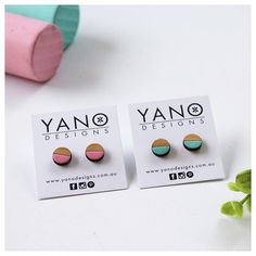 We're all stocked up of our hand painted bamboo earrings and ready for @homegrown_events_vic's Market on the Green, Sunbury this Saturday! Come and say hello! 😊 📷 by @k_bloves
