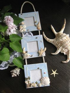 Home Interior Hamptons .Home Interior Hamptons Seashell Projects, Seashell Crafts, Beach Crafts, Seashell Frame, Diy Photo Frame Cardboard, Photo Frame Crafts, Clay Pot Crafts, Diy And Crafts, Crafts For Kids
