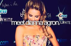 Meet Dianna Agron, she is my queen.